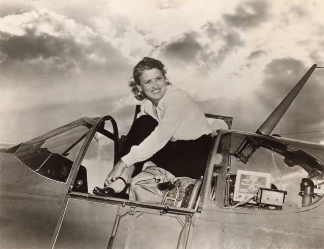 Jackie-Cochran-standing-in-cockpit-of-North-American-Aviation-P-51B-or-C-Mustang
