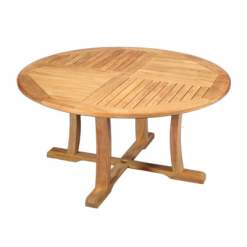 5' Round Teak Dinign Table