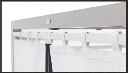 Tuuci Equinox Privacy Curtains - White