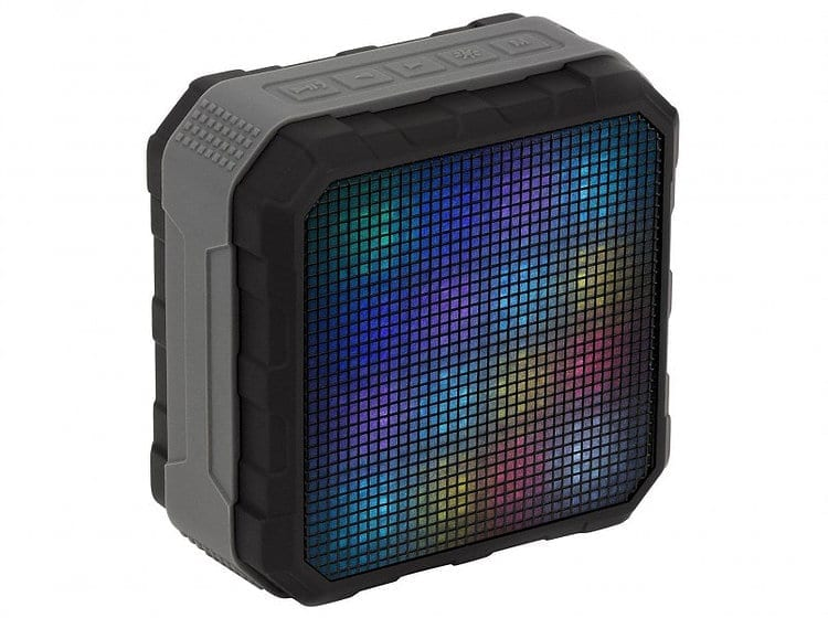 KitSound Sonar Bluetooth Speaker with LED Lightshow