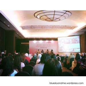 suasana gathering di intercontinental hotel
