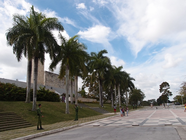 Che Guevara Mausoleum, Santa Clara, Cuba, Blue Sky and Wine