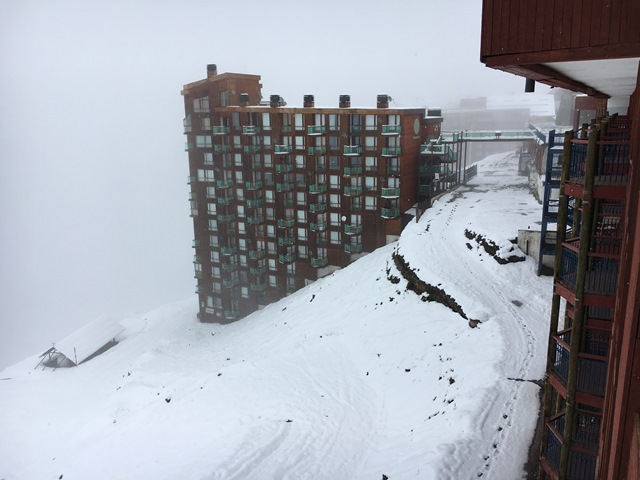 Valle Nevado, a ski resort from Santiago Chile