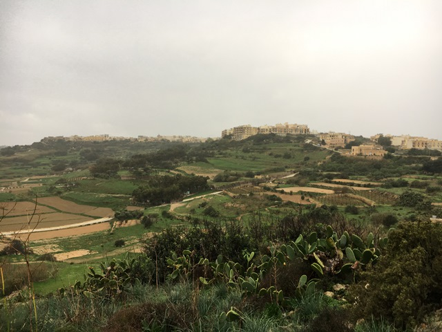 Gozo Island sightseeing with the tour bus, Malta, Blue Sky and Wine