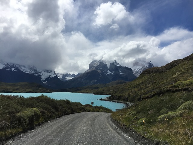 Blue Sky and Wine, torres del paine, puerto natales, chile