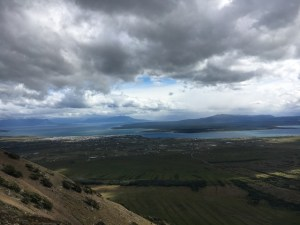 Blue Sky and Wine, Cerro Doterra, Puerto Natales, Chile