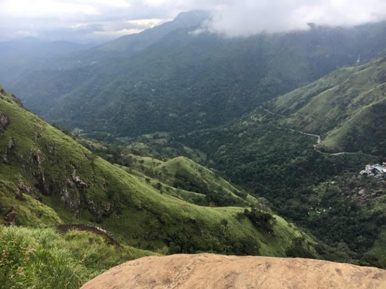 Little Adam's Peak Ella, Sri Lanka, Blue Sky and Wine