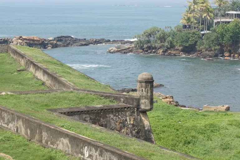 Galle dutch fort, Sri Lanka, Blue Sky and Wine