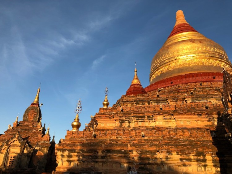 Blue Sky and Wine Travel Blog, Bagan Archaeological Zone