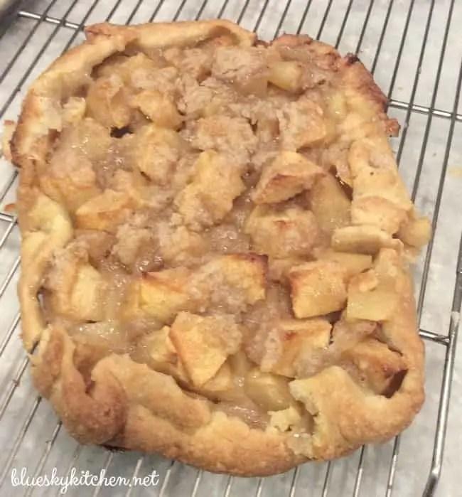 Is it a pie? Is it a tart? It's an Apple Crostata.