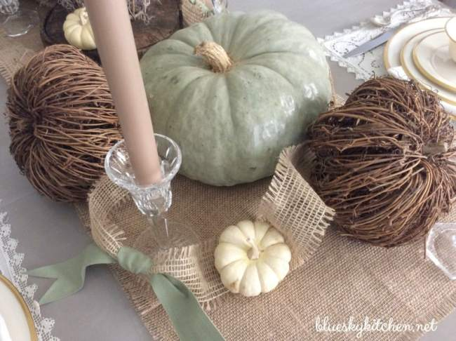 More fall decorating