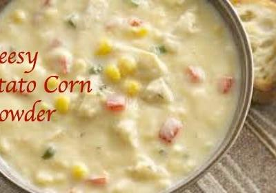 Cheesy Potato Corn Chowder Is Perfect for Christmas Eve