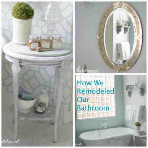 How We remodeled our Master Bathroom ! the After