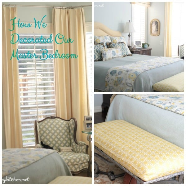 How We Decorated our Master Bedroom