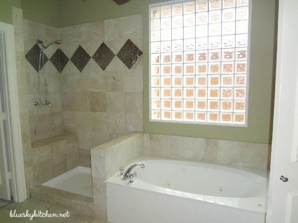 How We Remodeled our Master Bathroom ~ The Before