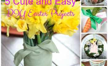 5 Cute and Easy Easter DIY Projects
