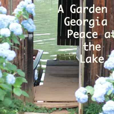 A Garden in Georgia ~ Peace at the Lake