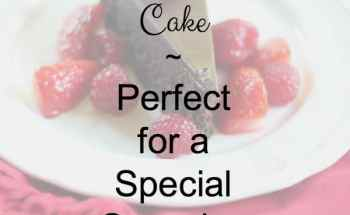 Chocolate Cassis Cake is Perfect for a Special Occasion