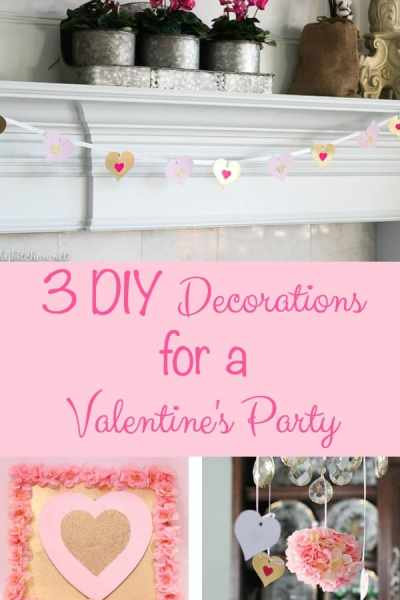 3 Easy DIY Valentine Decorations under $10