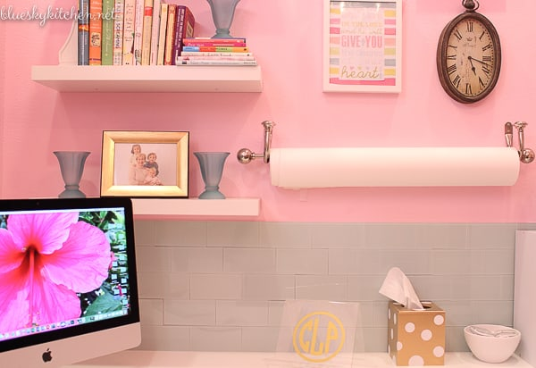 Home Office Reveal photo station