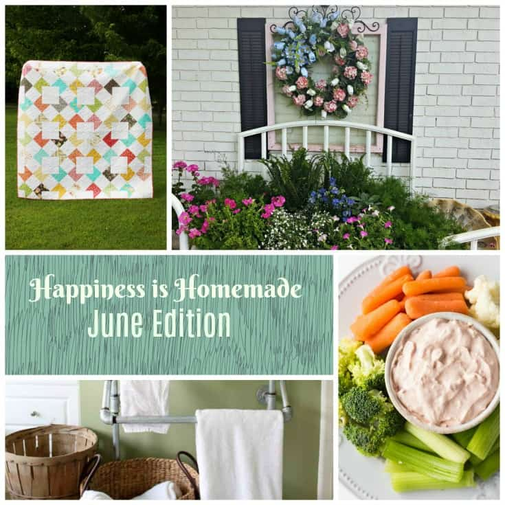 Happiness is Homemade Link Party #174. Share your latest and greatest DIY projects, home decor, recipes, and tablescapes with other bloggers and readers.