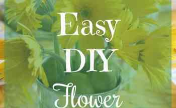 How to Make an Easy DIY Flower Centerpiece