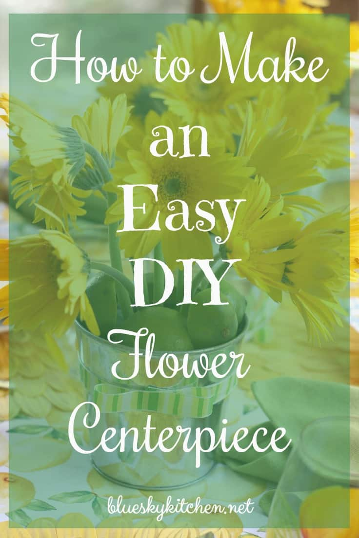 How to Make an Easy DIY Flower Centerpiece. A few simple supplies can help you create a flower centerpiece and customized it to your tablescape theme.