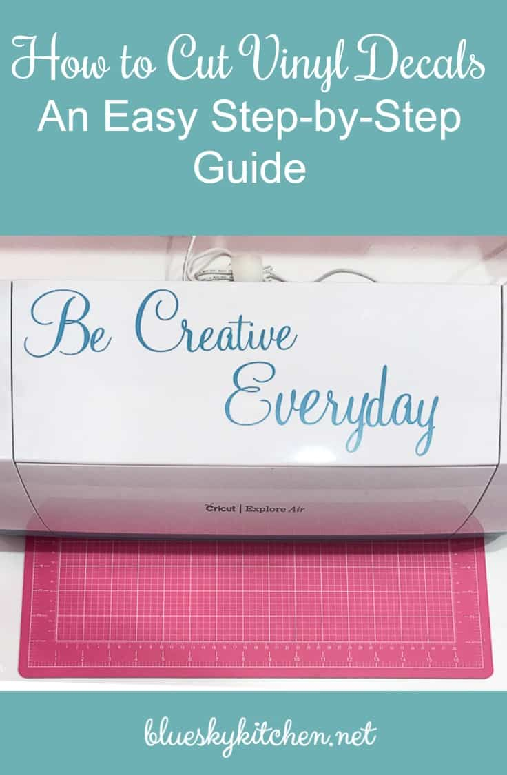 How to Cut Vinyl Decals ~ An Easy Step-by-Step Guide