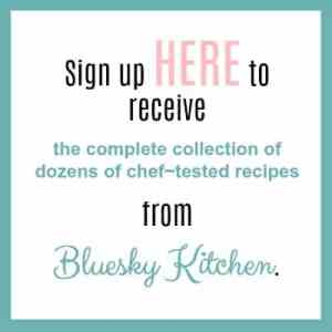 recipe sign up