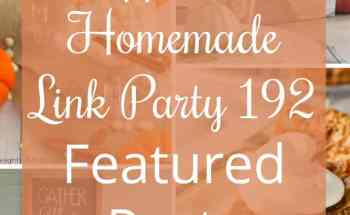 Happiness is Homemade Link Party 192
