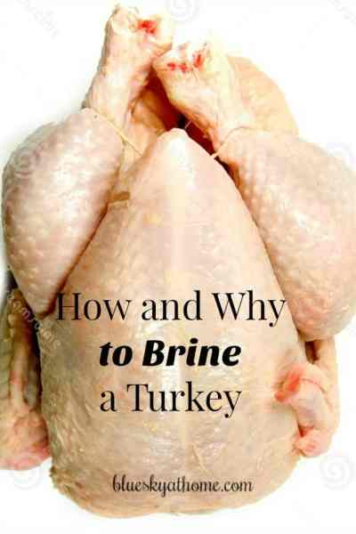 How to Brine Your Turkey and Why You Should