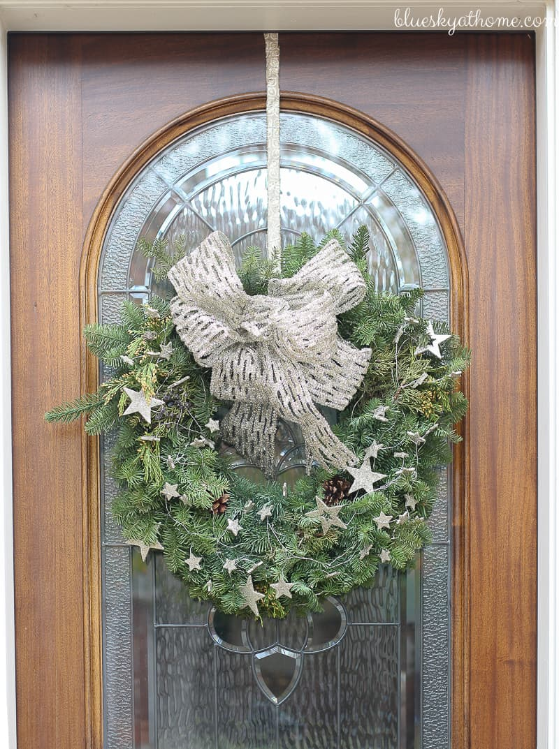 Welcome to our Home for the Holidays. From the front door to the entry to the staircase, we're ready to have you visit our home. BlueskyatHome.com
