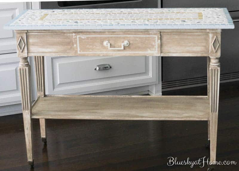 kitchen console table l shaped how to turn a into island bluesky at home