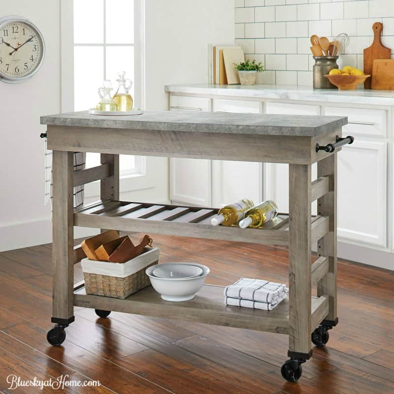 kitchen console table small space and chairs how to turn a into island bluesky at home