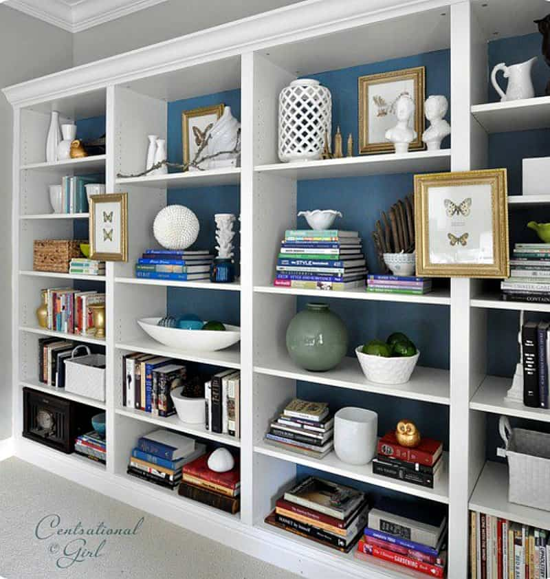 Bookshelf Ideas Part - 18: 6 Inspiring Ideas For New Bookshelves. When New Living Room Bookshelves Are  On Your Wish