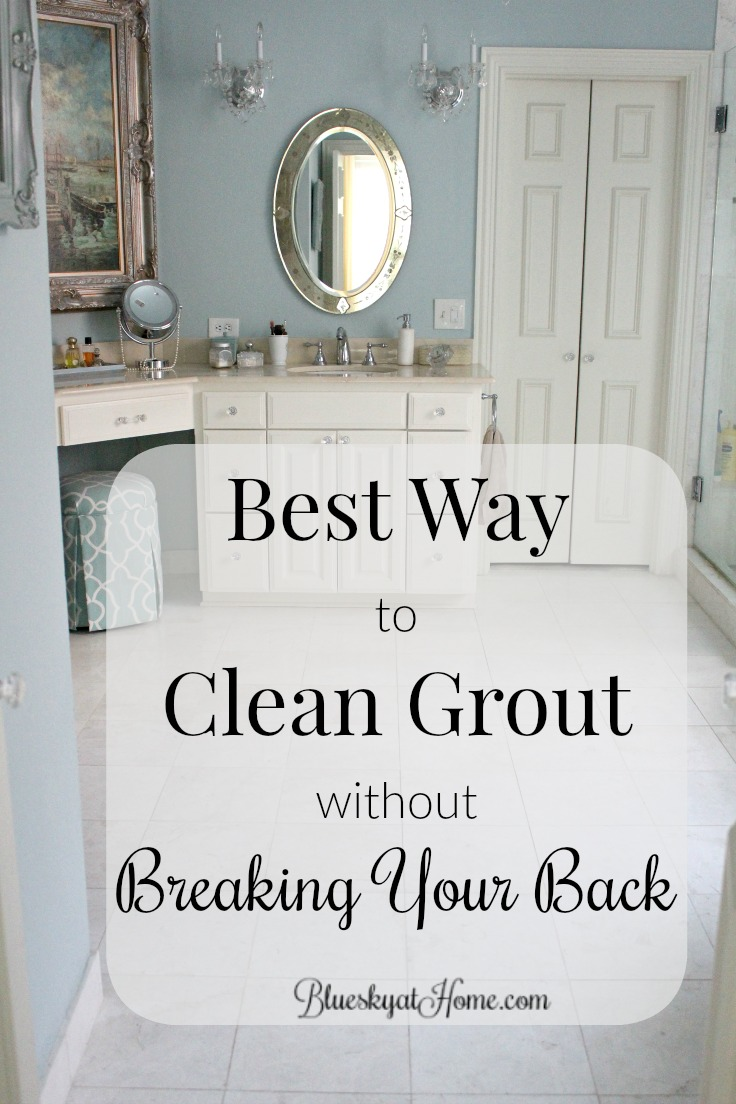 Best Way To Clean Bathroom Best Way To Clean Grout Without Breaking Your Back Bluesky At Home