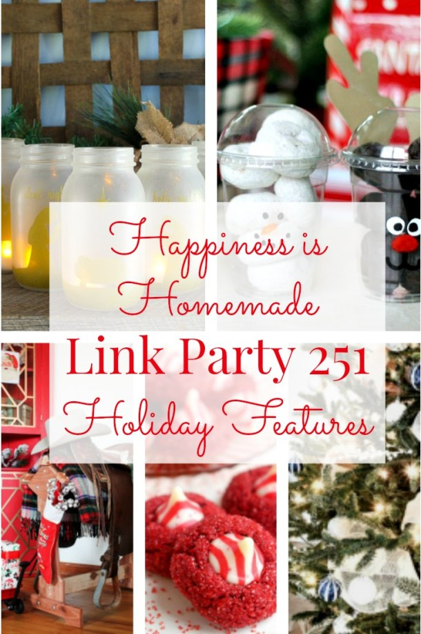 Happiness is Homemade Link Party 251 graphic