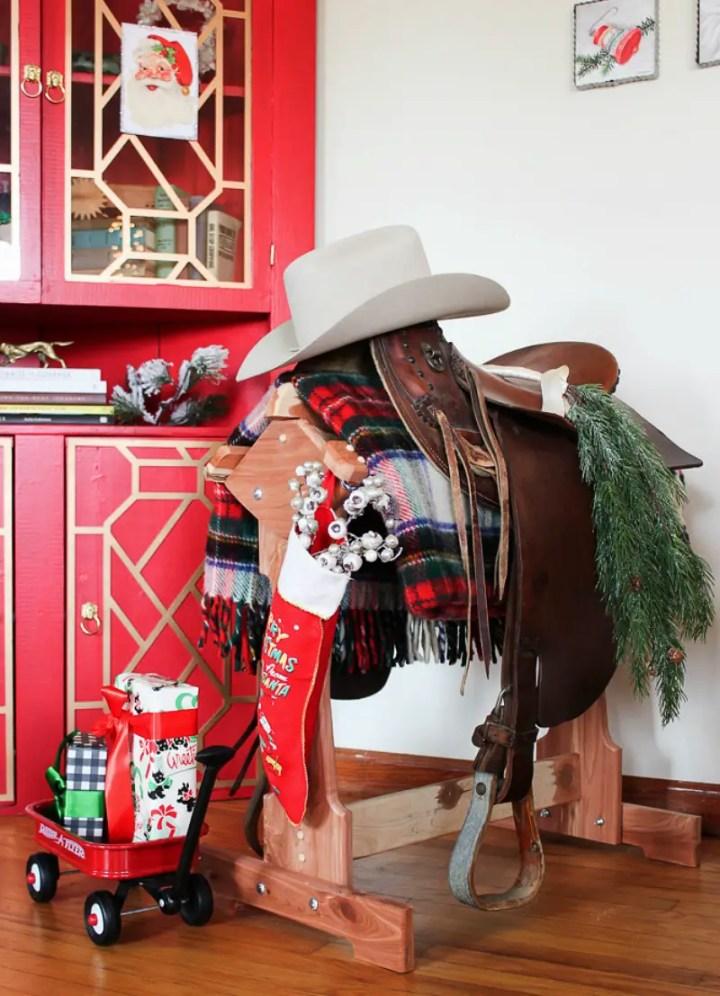 Christmas farmhouse decor