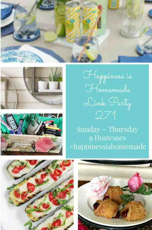 Happiness is Homemade Link Party 271