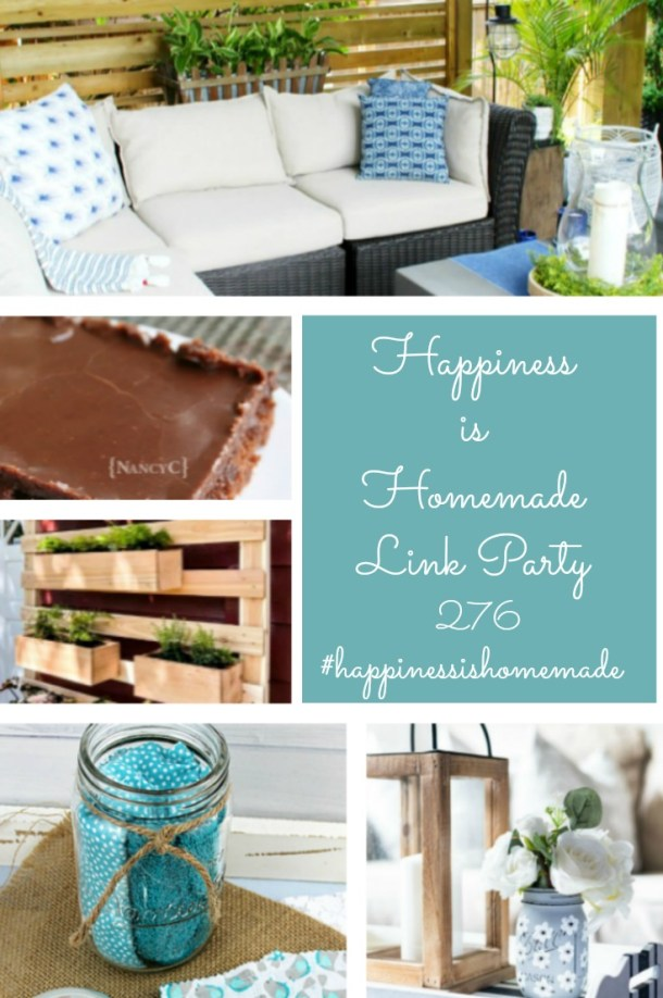 Happiness is Homemade Link Party Features graphic