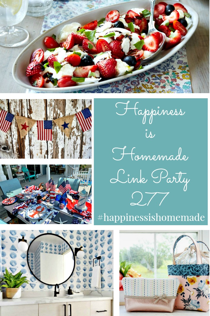 Happiness i Homemade Link Party 277 graphic