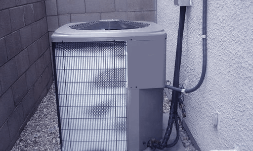 a frozen air conditioner