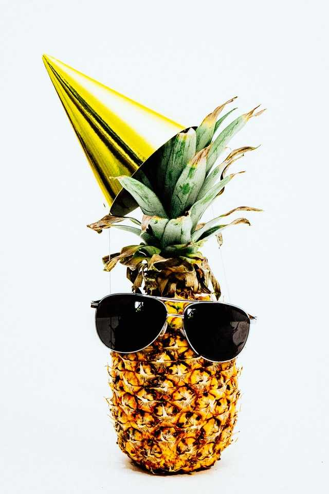 Stage 8 - Financial Freedom. Be as cool as this pineapple.