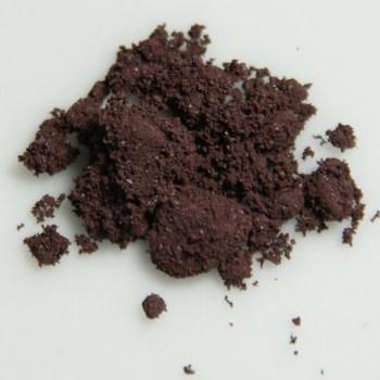 An image of powdered red phosphorus