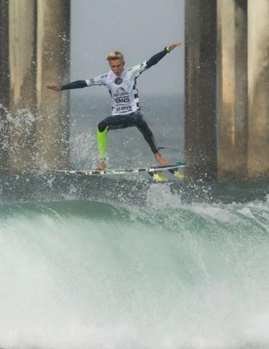 US Open Surfing 2016 - Junior's Men Rd1 - Heat 1