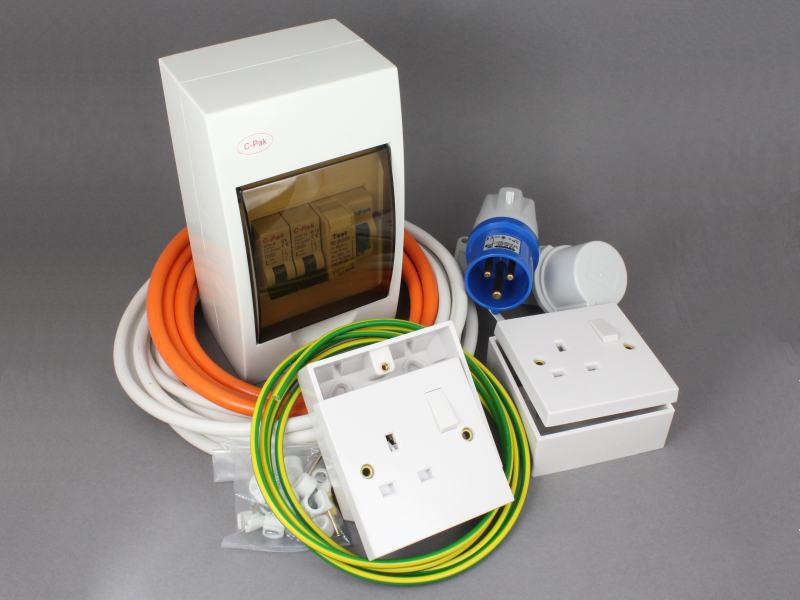 Caravan Electrical Sockets Wiring Diagram