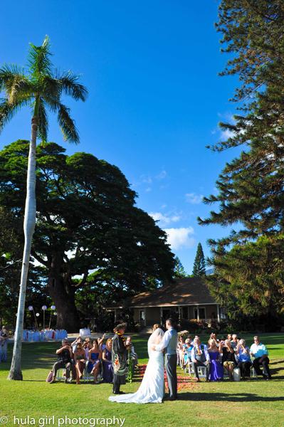 Wedding ceremony by Blue Sky Weddings