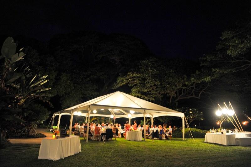 Wedding Tent Maui