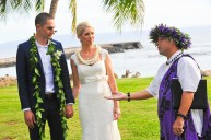 Maui Wedding Ceremony at Olowalu
