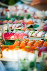 sushi boat - Blue Sky Weddings Maui